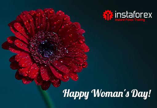 Wanita yang dihormati! Pasukan InstaForex mengucapkan tahniah kepada anda pada Hari Wanita Antarabangsa!