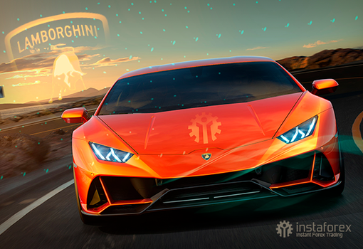 InstaForex is pleased to offer Lamborghini as a Christmas gift