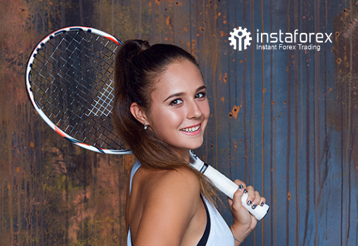 Daria Kasatkina - the VTB Kremlin Cup 2018 holder!