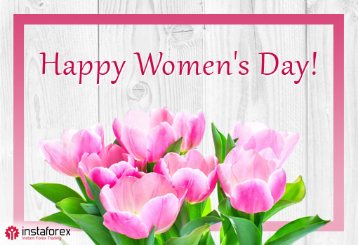 ​InstaForex congratulates all ladies!