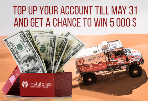 Grab a chance to win $5,000 in May!