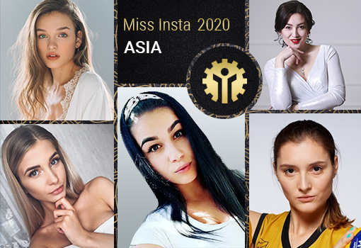 Results of Miss Insta Asia contest with prize pool of $45,000