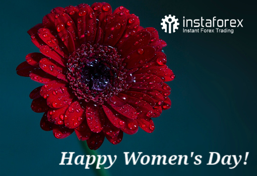 ​Dear ladies! InstaForex team congratulates you on International Women's Day!