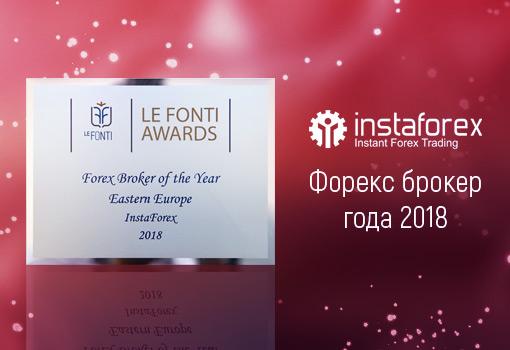 ИнстаФорекс во второй раз стала лауреатом премии Le Fonti Awards