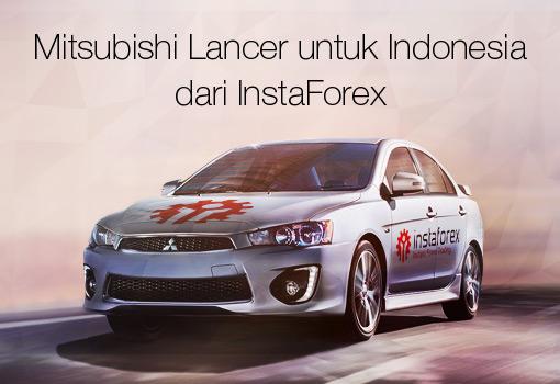Mitsubishi Lancer 2018 dari InstaForex Telah Berakhir