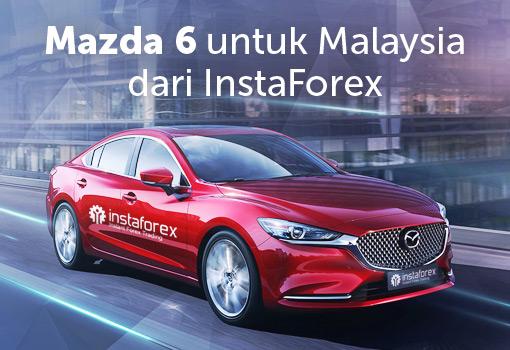 Tawaran 11.11! Peluang untuk memenangi Mazda 6 hanya dengan AS $500!