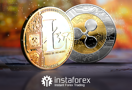 From now on, you can trade #Ripple and #Litecoin with InstaForex