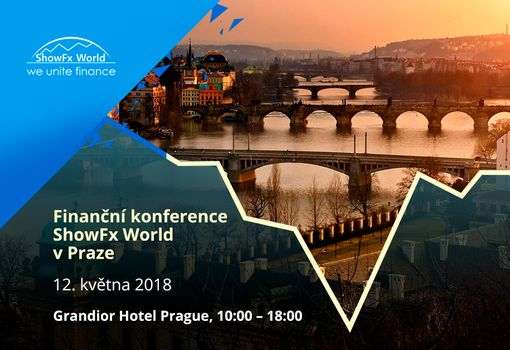​ShowFx World Financial Conference in Prague will take place on May, 12
