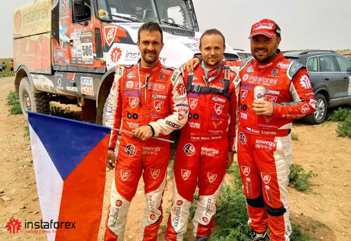 ​InstaForex Loprais Team won a brilliant victory in the Morocco Desert Challenge