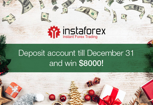 ​Get USD 8,000 on the eve of Christmas and New Year