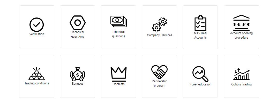 Ótimas notícias: Atualização da página de suporte ao cliente InstaForex!