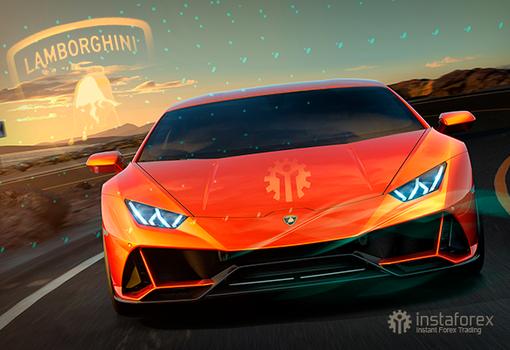 InstaForex tem o prazer de oferecer Lamborghini como um presente de Natal