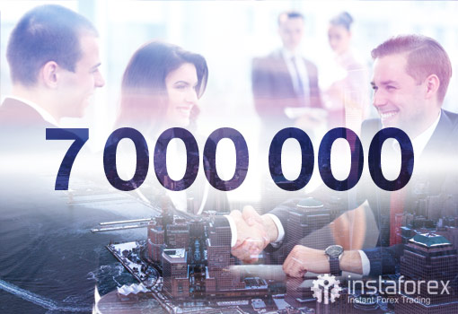 InstaForex Company News 7_million_client_1