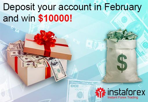 أسرع إلى الحصول على مكافأة كبيرة من إنستافوركس في فبراير!