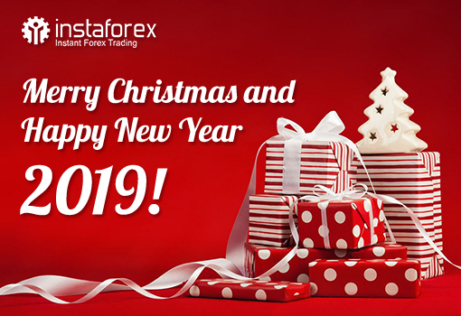 InstaForex congratulates on Christmas and New 2019 Year!