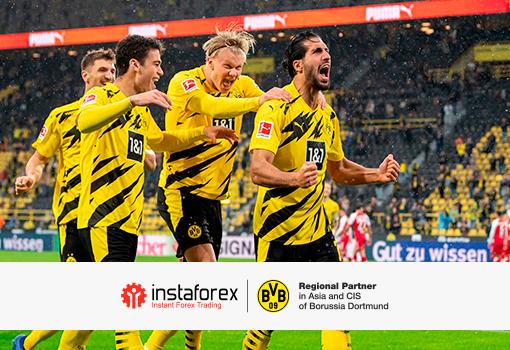 Borussia Dortmund vyhrála další důležitý zápas a zajistila si místo v Lize mistrů!