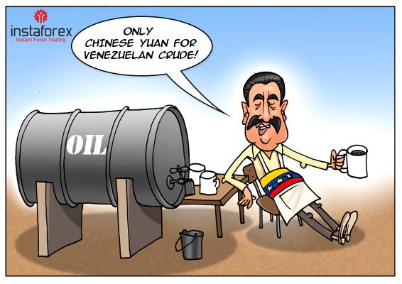 Venezuela prices its oil in yuan