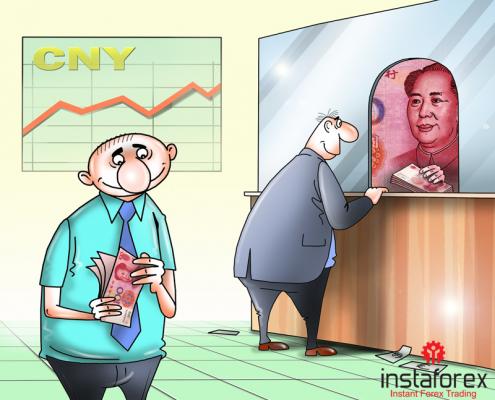 ЦБ Китая укрепил юань до максимума 2 лет
