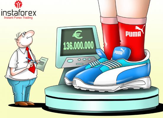 Laba bersih 2017 Puma melambung ke 136 juta euro