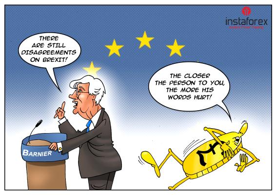 Pound turun ditengah pernyataan Barnier mengenai Brexit