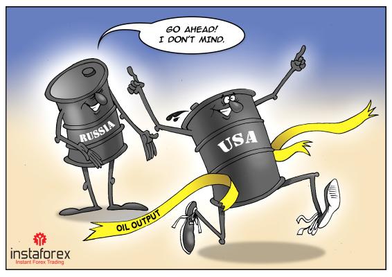 AS menjadi produsen minyak terbesar