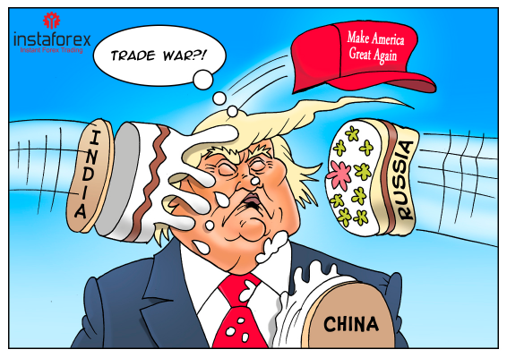 Russia declares trade war against US
