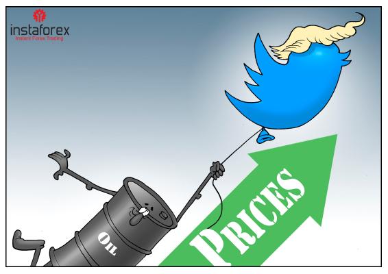 Harga minyak melonjak sebanyak $10 berikutan tweet Trump