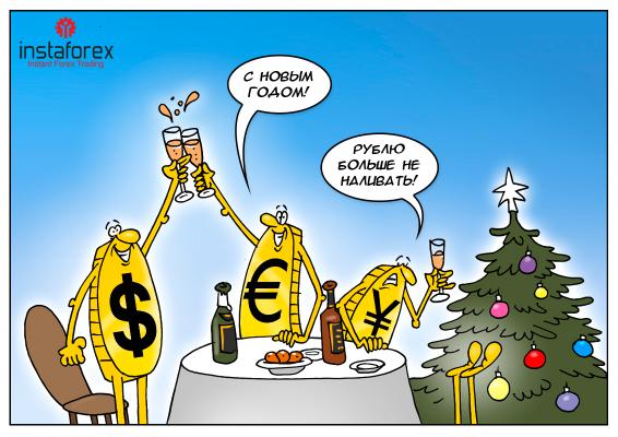 Осторожно, гололед, или говорят, под Новый год рубль сильно упадет!