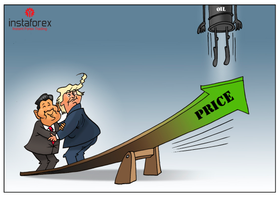 Oil prices soar amid new trade negotiations between US and China