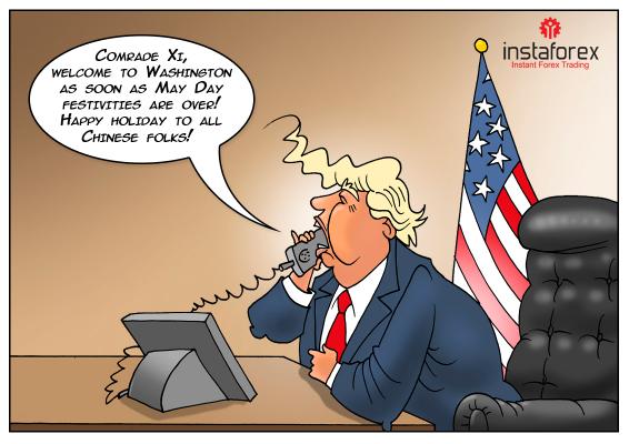 美国和中国正在进行贸易协议