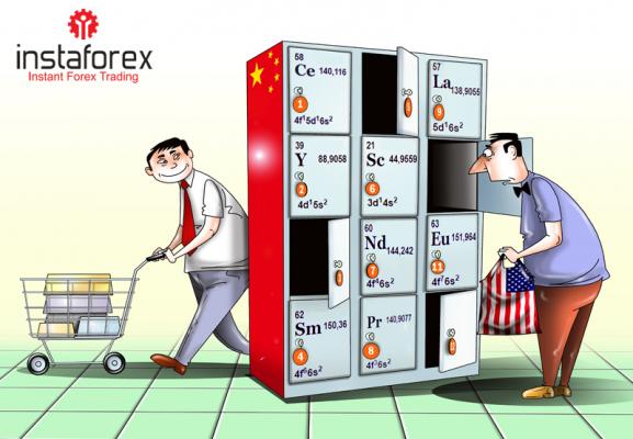 ประเทศจีนพร้อมที่จะจำกัดการส่งออกแร่หายากไปยังสหรัฐอเมริกา