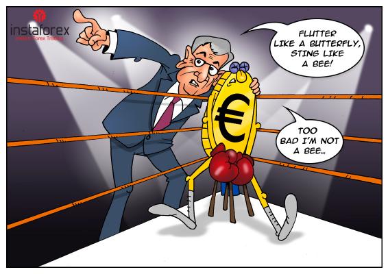 Pimpinan Banque de France memberikan tantangan terhadap USD