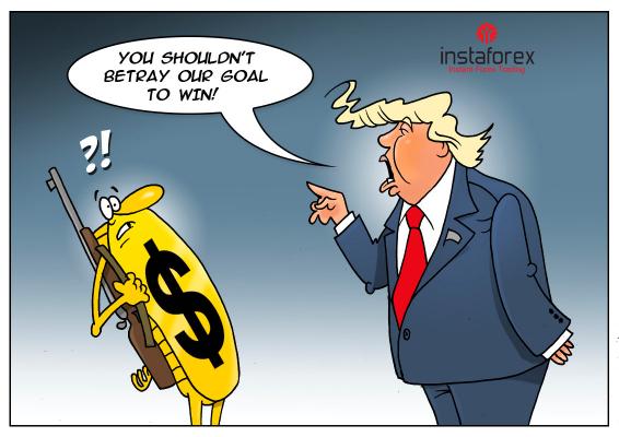 นาย Trump  ต้องการทำให้เงินดอลลาร์สหรัฐอ่อนค่าลง