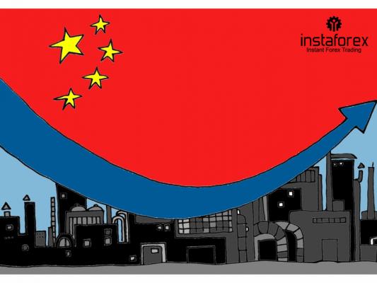 Crescimento da produção industrial da China cai para uma baixa  de 17 anos