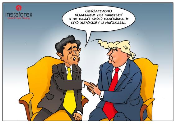 США и Япония — пример отношений, в которых полная гармония