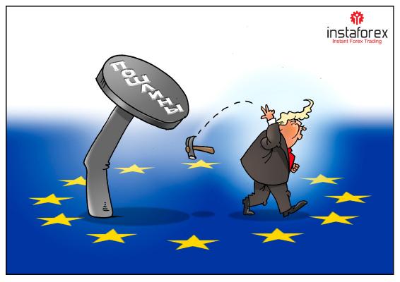 Евро под ударом американских санкций, перспективы мрачные