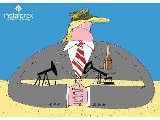 Trump  ถูกกล่าวหาว่าต้องการแหล่งน้ำมันของซีเรีย