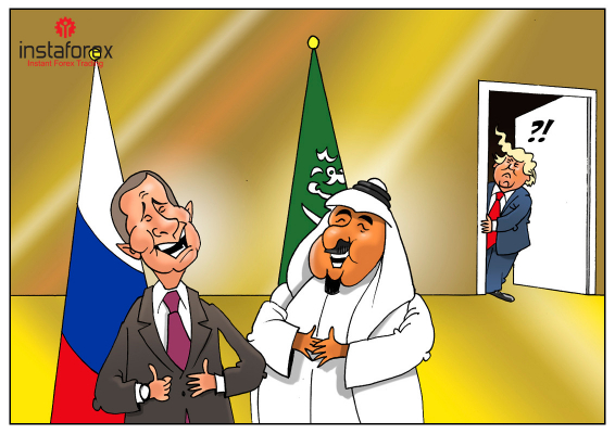 Successful partnership between Russia and Saudi Arabia brings worries to US