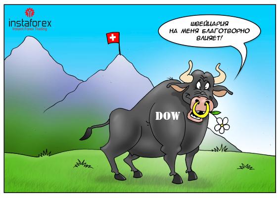 Działanie Banku Szwajcarii sprawia, że Ameryka jest wielkim krajem