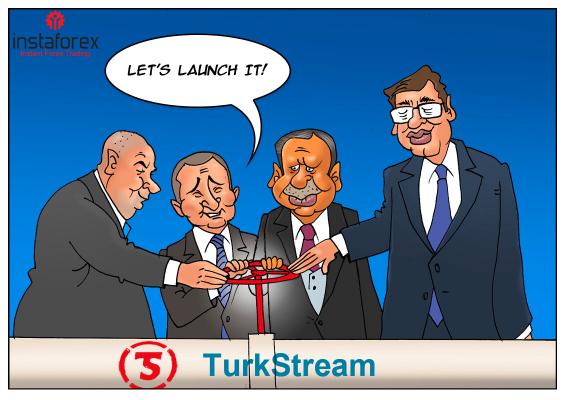 Rusia y Turquía lanzan el gasoducto Turkish Stream