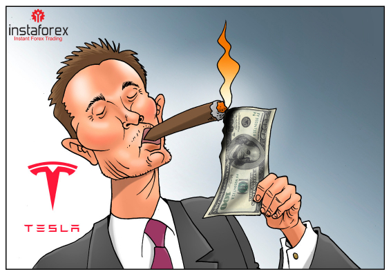 Pasaran saham Tesla melonjak sebanyak AS$4 bilion dalam tempoh satu malam