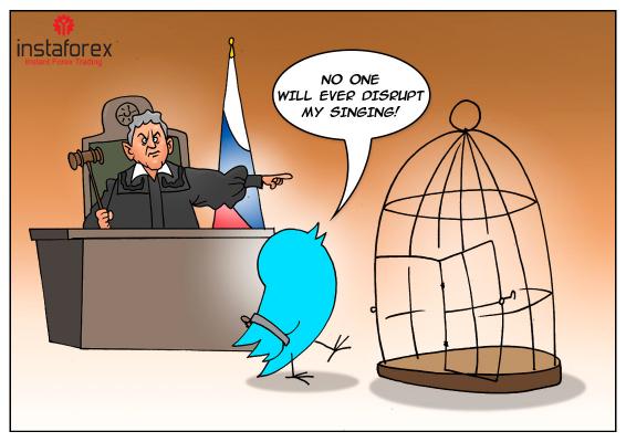 Ruský dozorný orgán zakročil voči Twitteru a Facebooku