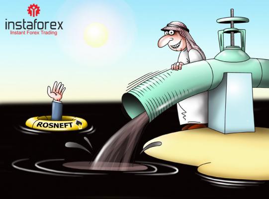 Saudi-Arabien steigt seine Öl-Exporte