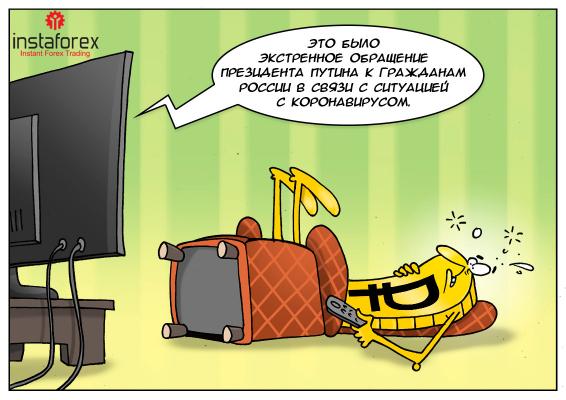 Президент поговорив з населенням — рубль відповів падінням