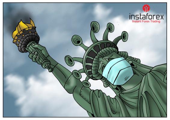 Estados Unidos sufre por la crisis del coronavirus
