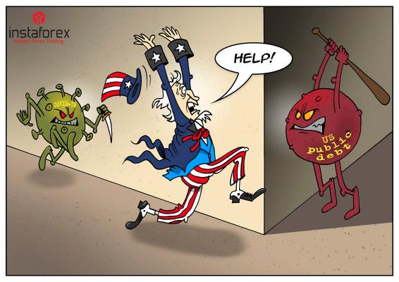 COVID-19 และหนี้สินก้อนใหญ่เป็นภัยสำคัญทั้งสองของอเมริกา