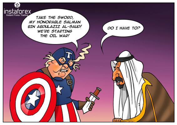 Trump pertimbangkan untuk ikut campur dalam perang harga Arab Saudi-Rusia