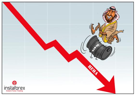 Podwójne uderzenie - Arabia Saudyjska uderza zarówno w ropę, jak i gaz