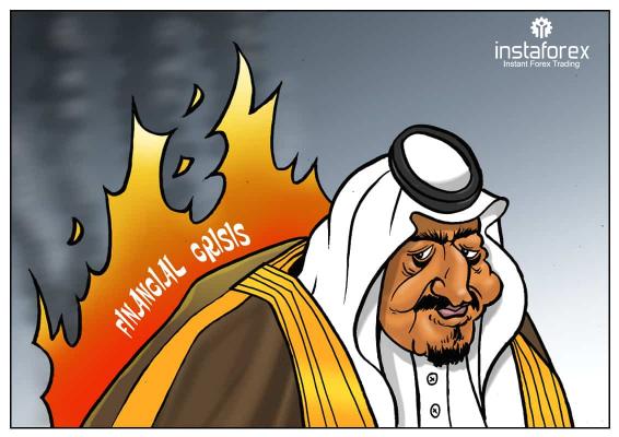 Arábia Saudita reduz gastos do governo em meio à crise iminente