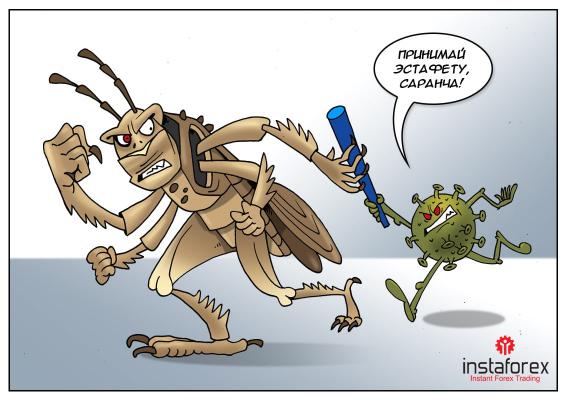 Африка: Нам всі проблеми по плечу, тільки добийте сарану!